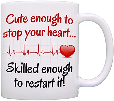 Amazon Com Funny Doctor And Nurse Gifts Mug Birthday And Graduation Gift Ideas For Rn Cna Lpn Registered And Practitioner Nurses Presents For Medical Doctors Men And Women Cup Kitchen