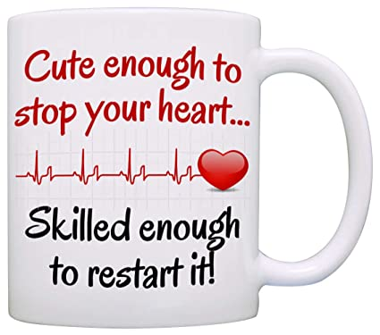 0a2e7db94 Funny Doctor and Nurse Gifts Mug - Birthday and Graduation Gift Ideas for  RN CNA LPN