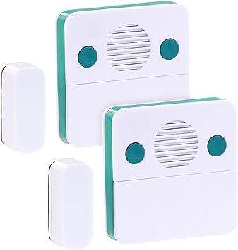 VisorTech – Alarma de Congelador de: Juego de 2 universal de ...