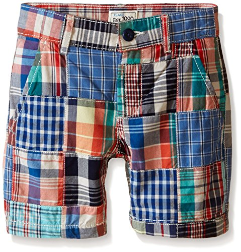 Patchwork Boys Shorts (The Children's Place Big Boys Patchwork Short, Captain Navy,)