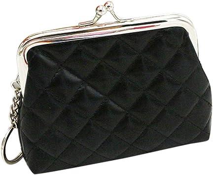 Womens Plain Faux Leather Purse Slim Handbag Wallet Card Holder Light Ladies Bag