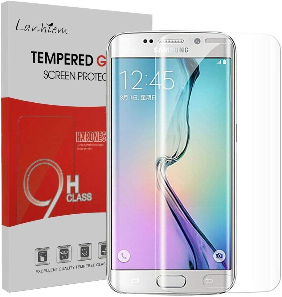 Galaxy S7 tanque Edge Cristal protector de pantalla, etmury Samsung Galaxy S7 Edge Protector de pantalla [] [antiarañazos, sin burbujas] Cristal Vidrio Templado templado Protector de pantalla de cristal Protector de pantalla
