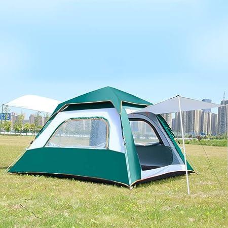 Westiny 2 Tamaños al Aire Libre Tienda de campaña instantánea for 3-5 Personas o 5-8 Configuración Sencilla Ideal for el Ocio Camping Familiar Senderismo Tienda de campaña Familiar al Aire Libre Tela: