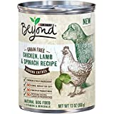 Purina Beyond GRAIN FREE Chicken,Lamb & Spinach Recipe (6-CANS) (