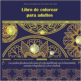 Amazonfr Libro De Colorear Para Adultos Las Piedras