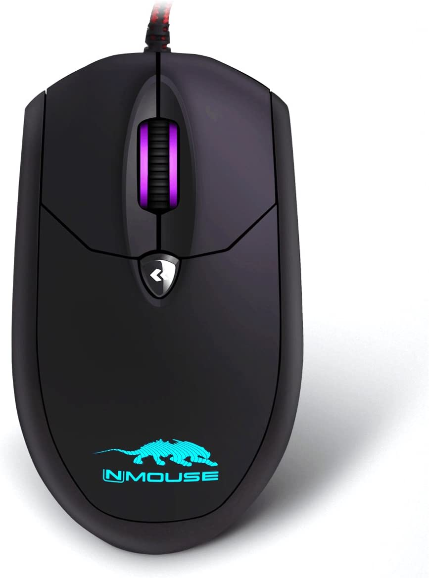 Sky digital Nmouse 4K Real 4K Wired Gaming Mouse Black