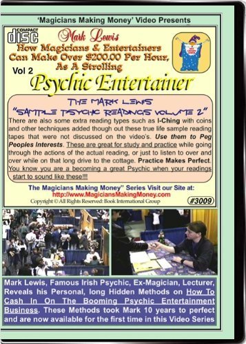 The Mark Lewis Sample Psychic Readings Training Cd - Psychic Readings Actually Done for Client Readings - Volume 2 by Mark Lewis ()