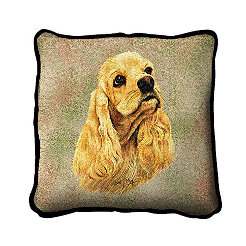 Cocker Spaniel Pillow17 x 17 Pillow