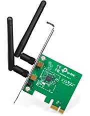 TP-Link TL-WN881ND 300 Mbps Wireless N PCI Express Adapter, PCIe Network Interface Card for Desktop, Low-Profile Bracket Included, Supports Windows 10/8.1/8/7/XP (32/64 bit) and Linux 2.6.24~4.1