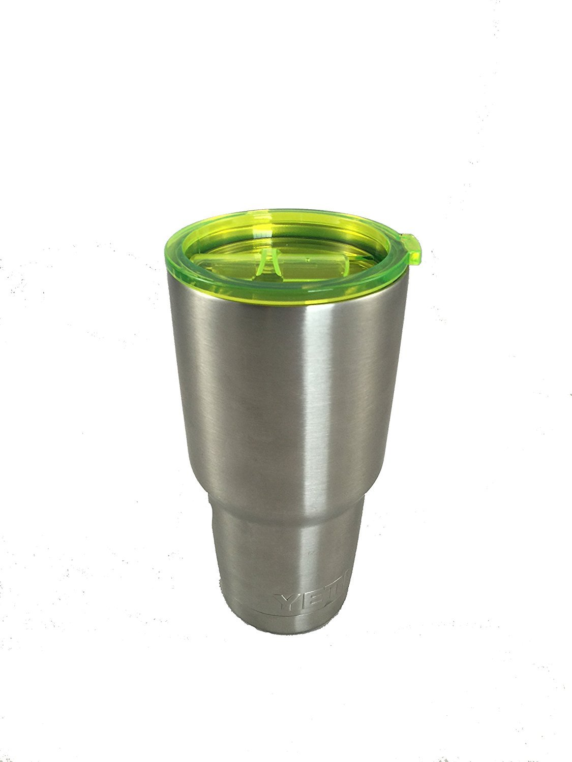 Fits RTIC TOPR Colored Universal Replacement Lid for Stainless Steel Tumbler Splash Resistant Easy-Sip Slide Closure Ozark /& more 30oz, Lime Green Straw Friendly Travel Cover Yeti Boss