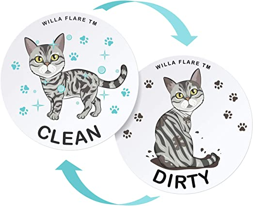 Large Dishwasher Magnet Clean Dirty Sign Funny Emoji Magnets Large Strong Cool Magnetic Gadgets For Kitchen Organization And Storage Strong