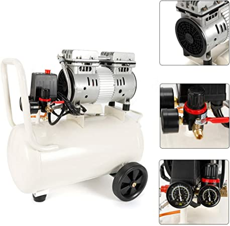 Compresseur dair 30L compresseur sans huile 35db silencieux F//camion de train de voiture 55 62CM 31