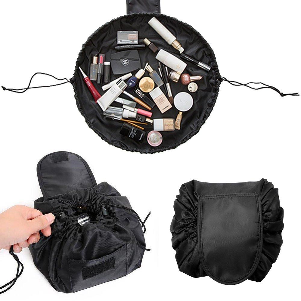62e74b053da1 Adpartner Drawstring Makeup Bag Lazy Cosmetic Bags Portable Waterproof  Cosmetics Bag Large...