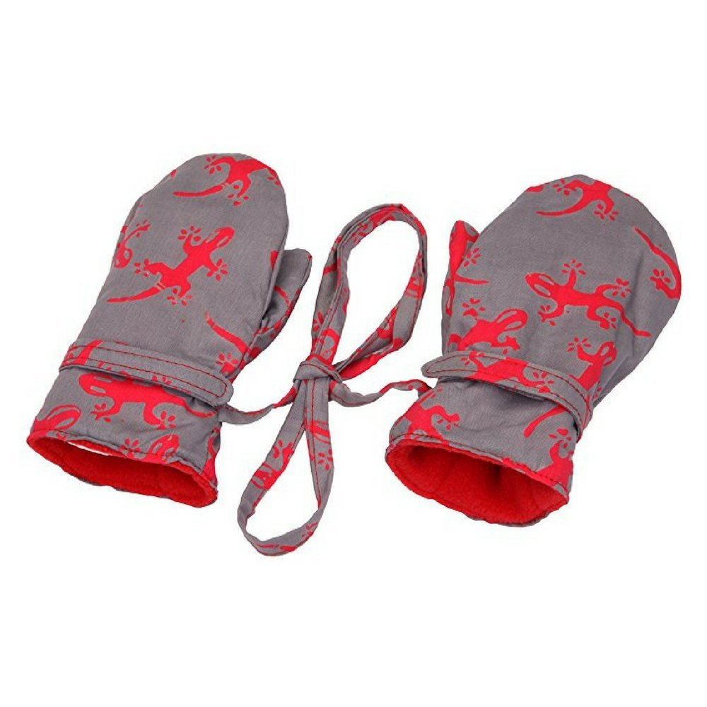 Back From Bali Baby Toddler Boy Mittens with String Micro Fleece Fun Prints UK-MI002-GG-XXL