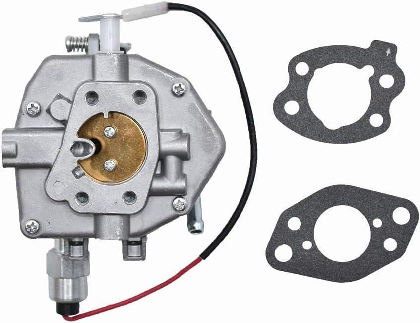 Autu Parts 845906 845015 carburetor with Gasket Solenoid Valve for Briggs &Stratton for Nikki Carburetor 16 HP CARB