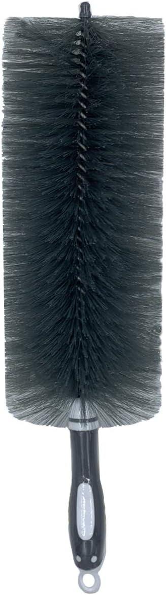 OITUGG Cepillo para Polvo, Herramienta Flexible de Limpieza Flexible para Aire Acondicionado, Ventilador, Ventilador de Techo, Polvo Hueco, persianas y telaraña (Grey)