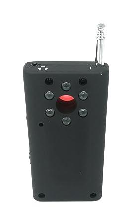 WMG CS ELETTROINGROS detector de micros espías, sistema de grabación de video, señal Radio, ondas electromagnéticas: Amazon.es: Electrónica