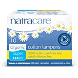 Natracare Organic Super Cotton Tampons - Pack of 10 Tampons