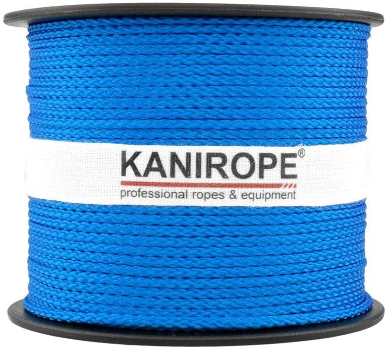 Tress/é Polypropyl/ène Corde Cordage PP 3mm 100m Bleu 0912
