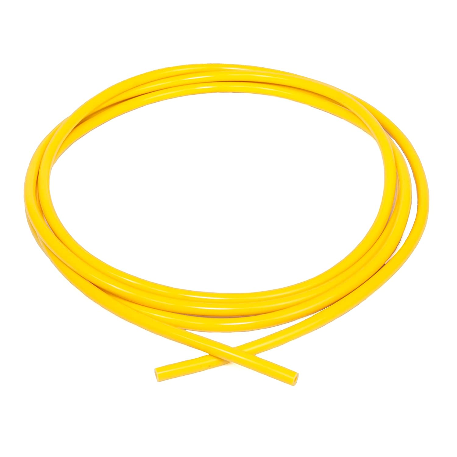 4 mm x 3 m Ramair Filters VAC4MM-3M-YW Silicone Vacuum Hose Yellow