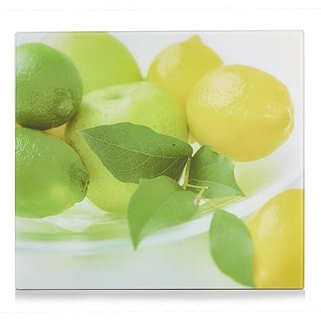 Zeller 26291 Cucina Copri Piano Cottura Con Limone Vetro