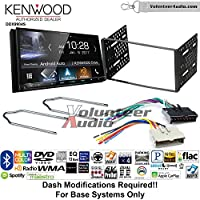 Volunteer Audio Kenwood DDX9904S Double Din Radio Install Kit with Apple CarPlay Android Auto Bluetooth Fits 1995-1997 Explorer, 1997 E-150, 2004-2006 Expedition