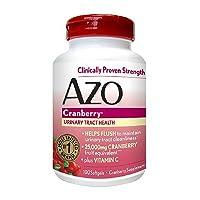 AZO Cranberry, Maximum Strength, Softgels 100 ea (Pack of 2)