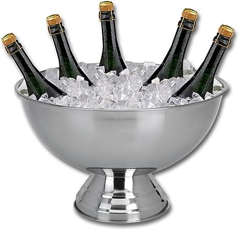 Sektkühler Edelstahl Flaschenkühler Weinkühler Eiseimer Champagnerschale