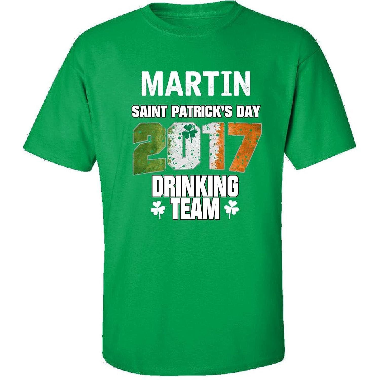 Martin Irish St Patricks Day 2017 Drinking Team - Adult Shirt