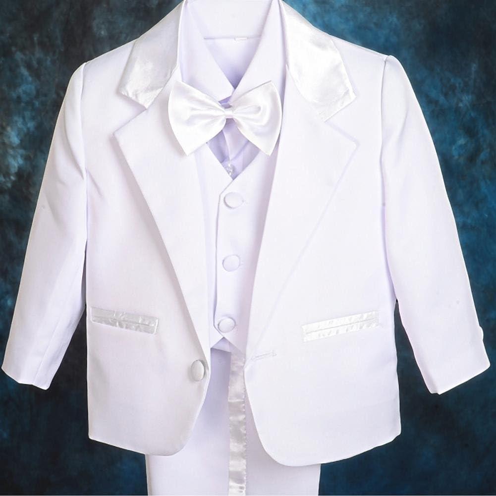 Lito Angels Baby Jungen 5 Teiliges Formale Smoking Anzug Anlass Kleidung