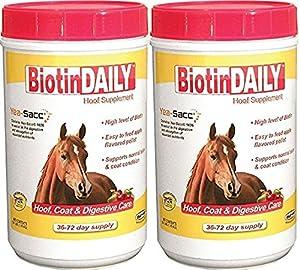 (2 Pack) Biotin Daily Hoof Care Supplement