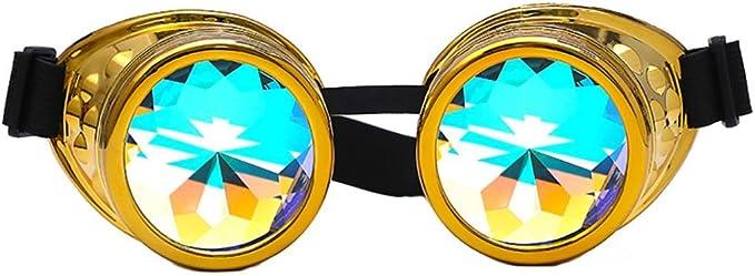 Luoluoluo Occhiali da Sole, Festival Caleidoscopio Occhiali