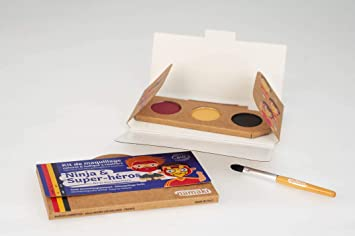 NAMAKI - Kit de maquillaje para niños - 3 colores para la ...