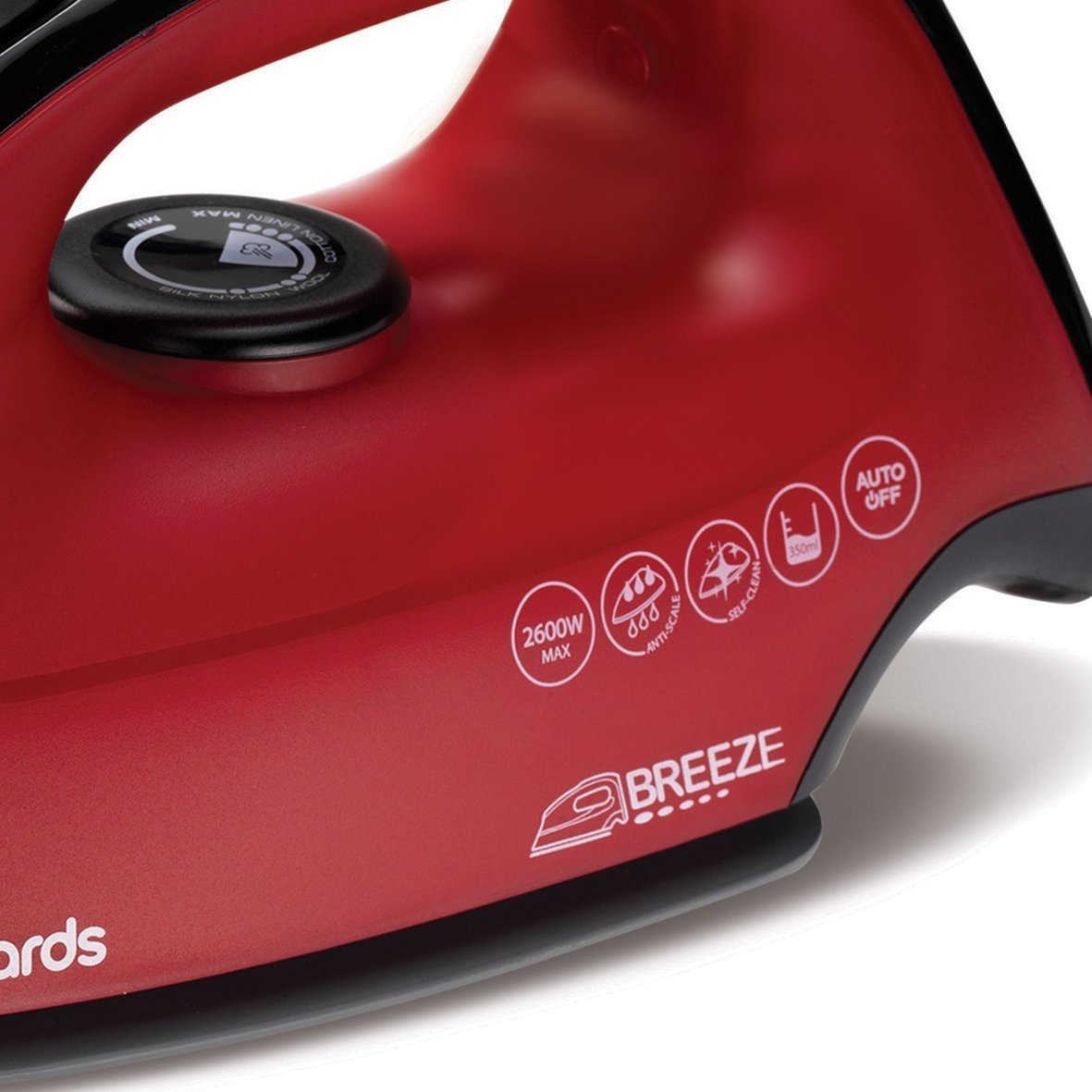 Morphy Richards 220v iron 2600 watts with steam & Auto Shut off 220 – 240 volts 50 / 60 hz Bundle With Dynastar Plug Adapters (NOT FOR USA)