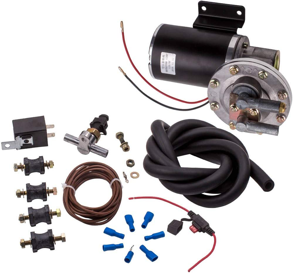 "maXpeedingrods Electric Vacuum Pump Kit Set for Brake Booster 12 Volt 18"" to 22"""