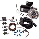 "maXpeedingrods Electric Vacuum Pump Kit Set for Brake Booster 12 Volt 18"" to 22"" 28146"