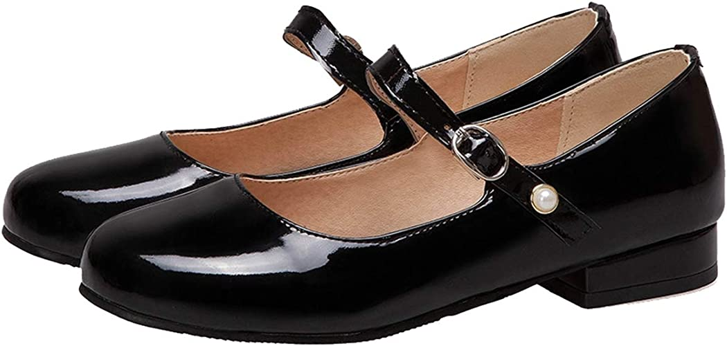 LUXMAX Womens Dolly Shoes Ballet Flats