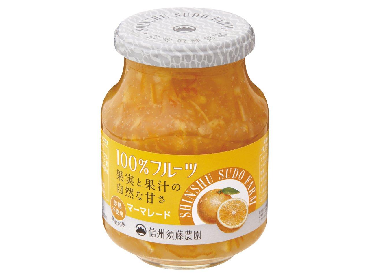 スドー 100%フルーツ ママレード430g