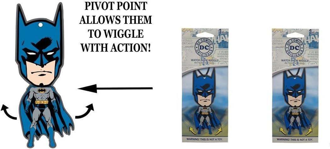 Batman Wiggler 1 pack air freshener Vanilla x 2 packs