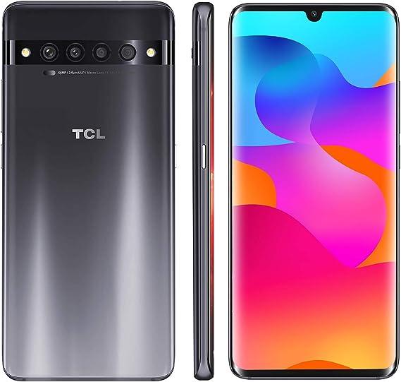 "Amazon.com: TCL 10 Pro desbloqueado Android Smartphone con 6.47"" AMOLED FHD + pantalla, 64MP Quad sistema de cámara trasera, 128 GB+6 GB RAM, 4500 mAh batería de carga rápida"