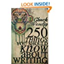 250 Things You Should Know About Writing