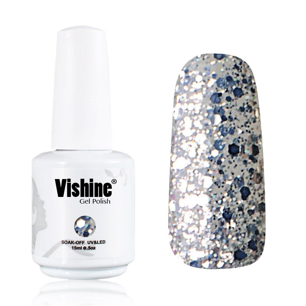 Amazon.com : Vishine Gelpolish Long-lasting Gel Nail Polish Lacquer ...