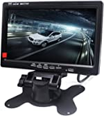 Padarsey 7 Inch LED Backlight TFT LCD Monitor for Car Rearview