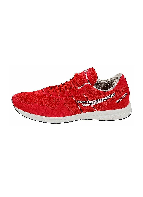 separation shoes 78ebf 97393 SEGA Unisex Red Marathon Running Shoes