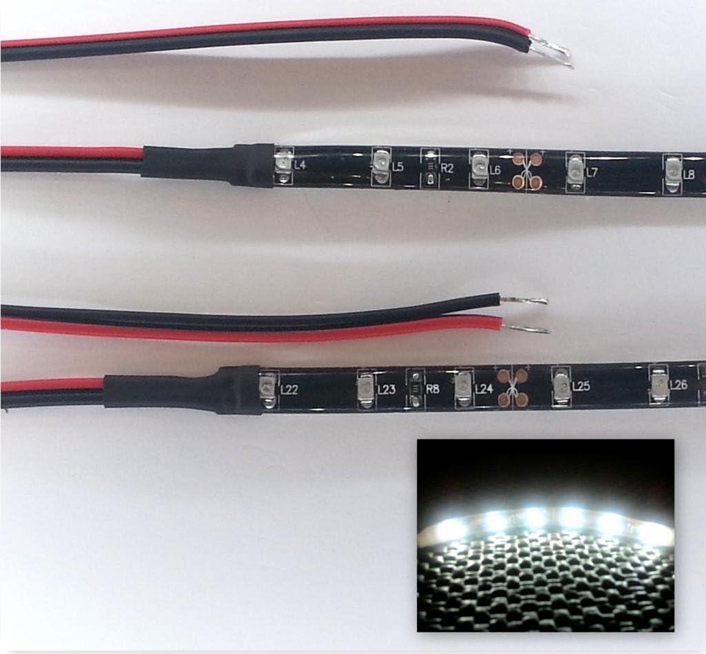 Top LED Green Led Footwell//Interior Strip Lighting 2X20Cm