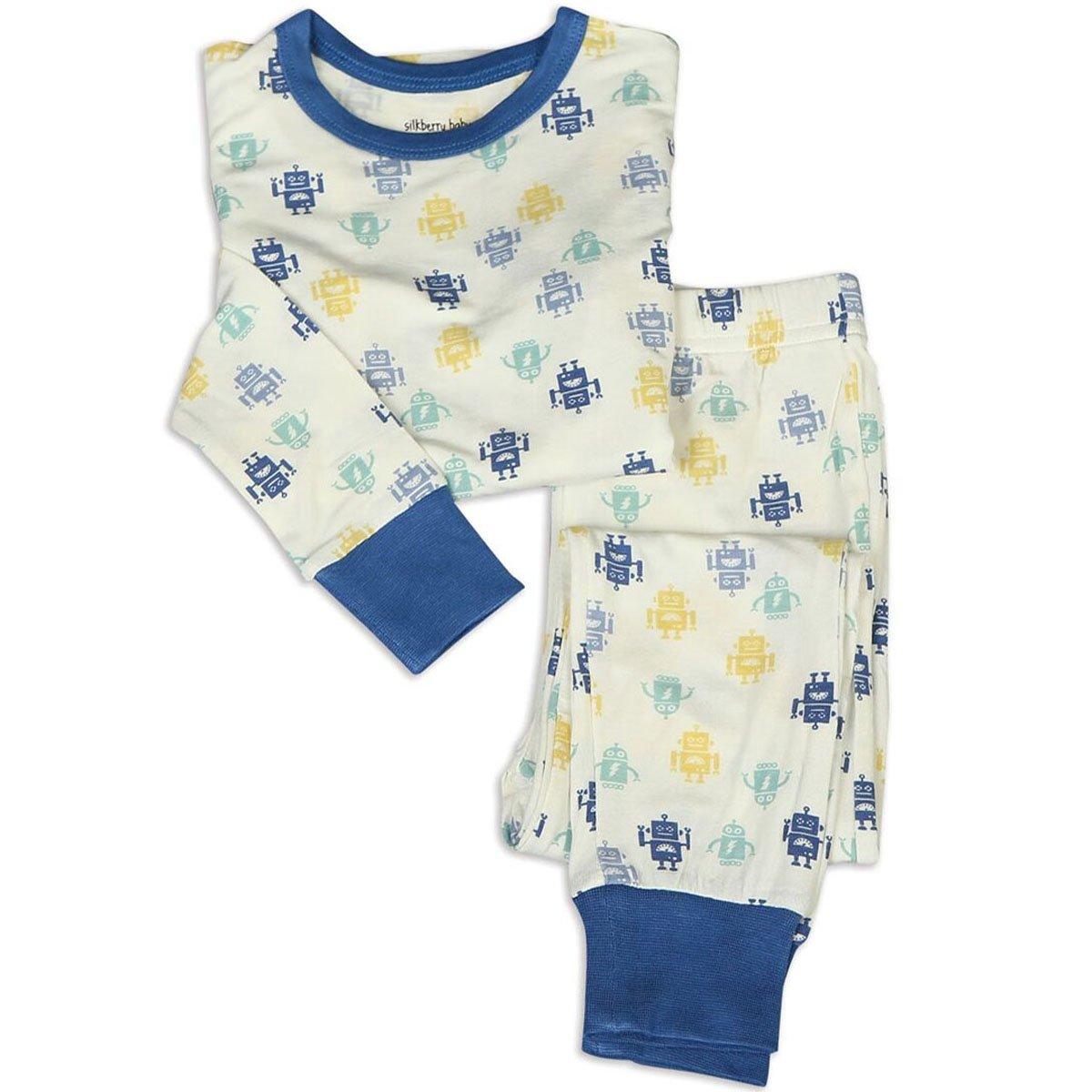 【送料無料】 Silkberry Baby - SLEEPWEAR ユニセックスベビー 18 24 - 24 Months ロボット Baby B07FTFFKQJ, ミヤギグン:d3544895 --- a0267596.xsph.ru