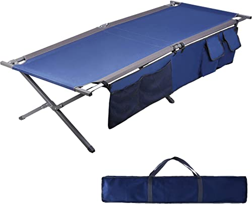 BYER OF MAINE TriLite Cot, Camping cots for Adults, Portable cot, Single