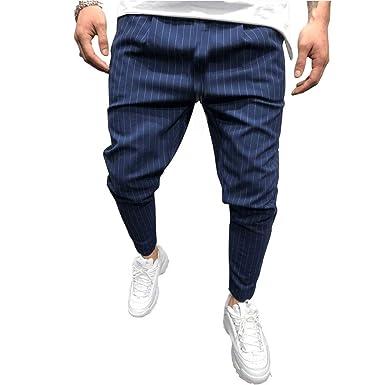 DOTBUY Hombre Pantalones Chándal Casuales Joggers Pantalones de ...