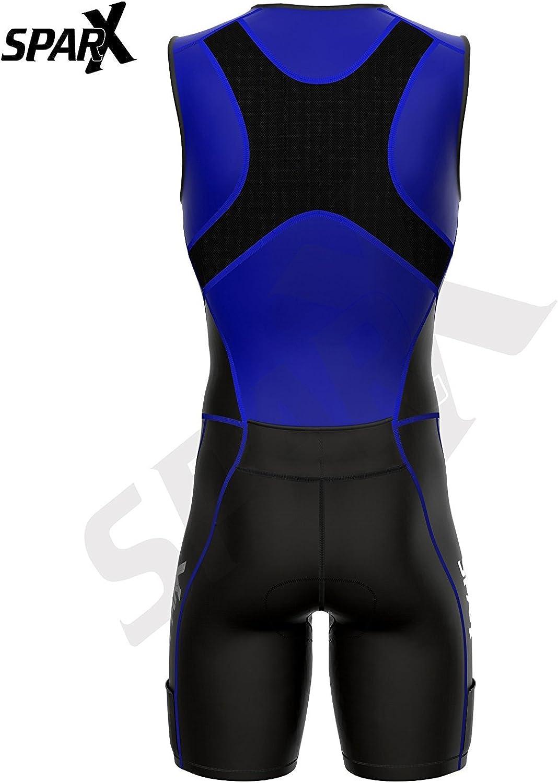 Sparx X Triathlon Suit Men Racing Tri Cycling Skin Suit Bike Swim Run