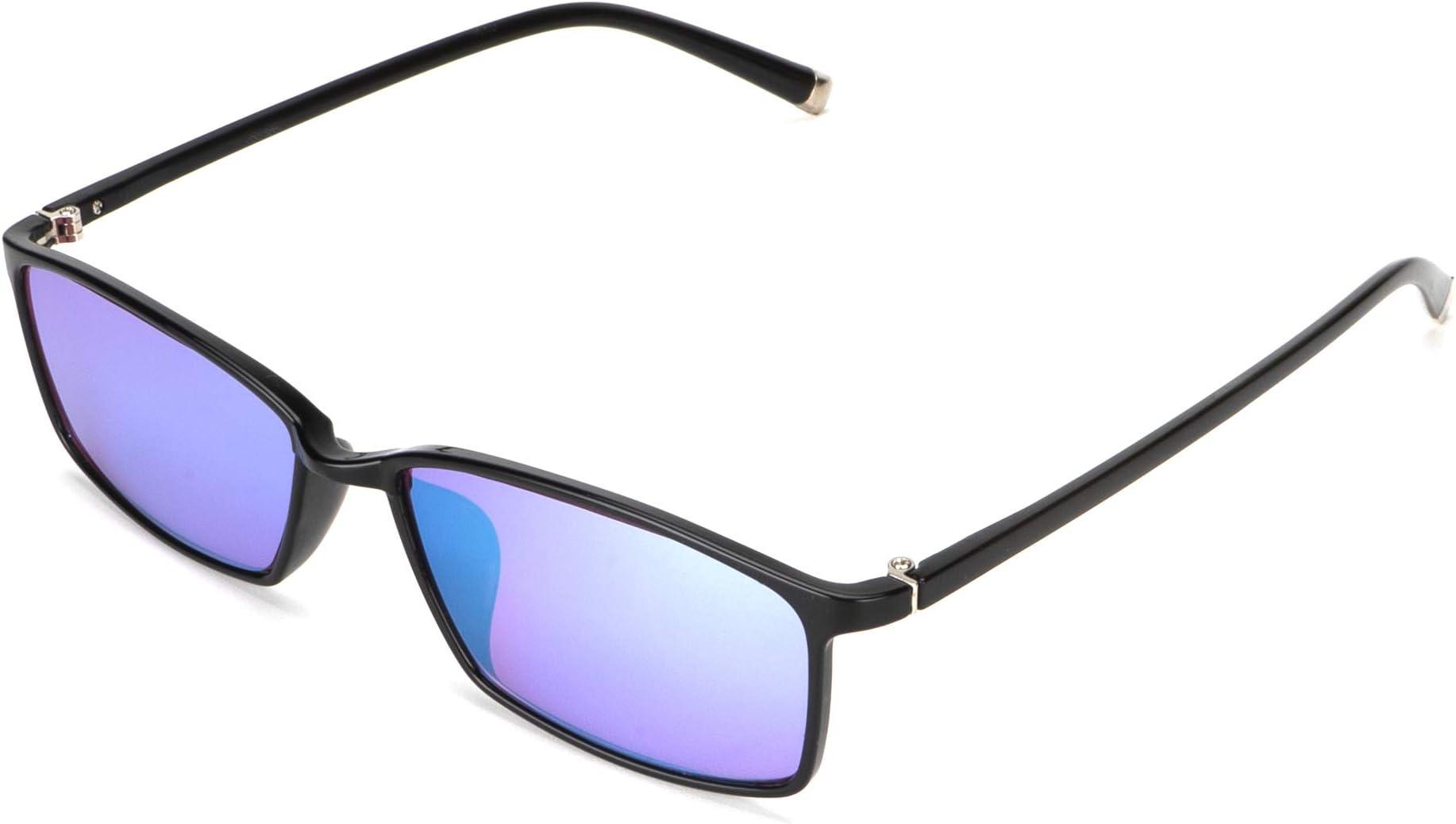 STBJ Red/Green Uni-sex Color Blind Glasses w/Purple Blue Lenses